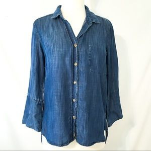 Cloth and Stone Chambray Button Down S